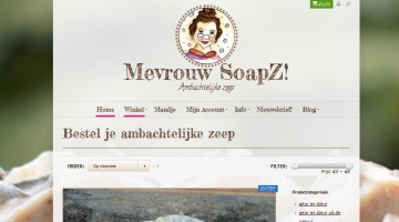 Mevrouw SoapZ ambachtelijke zeep