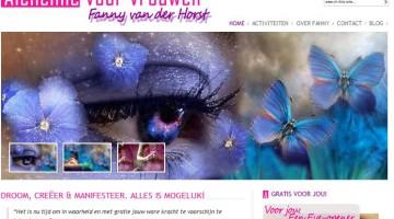 Website voor Alchemista Fanny